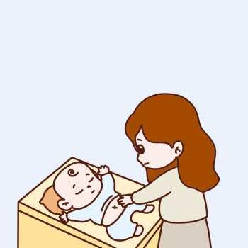 婴儿有点拉肚子怎么办?改善症状,这样做就可以