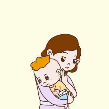 五个月的宝宝受凉拉肚子怎么办?这样做效果不错