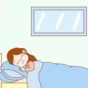 消眼袋要少熬夜,这样还可防早衰