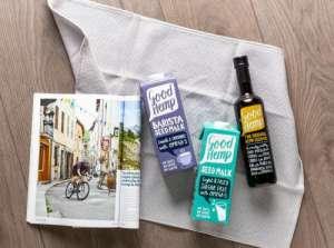 天然健康饮食新选择,英国品牌Good Hemp火麻植物奶和系列优质产品正式进入中国市场!