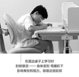 学习桌之父告诉你:如何让孩子不再趴着写字?  ——防趴防驼防近视的创想学习桌